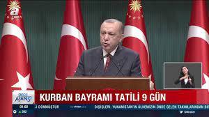 Başkan Erdoğan duyurdu: 15-16 Temmuz Perşembe Cuma resmi tatil mi, bayramla  birleşti mi, bayram tatiline bağlanacak mı? | Video videosunu izle