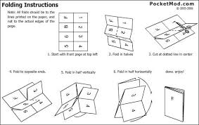 picture of print and fold