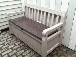 garden storage bench off 55