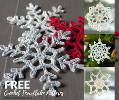 Crochet Snowflake Pattern Fascinating Crochet Snowflake Patterns Gorgeous Tree Decorations Crochet Now