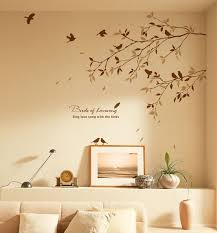 on removable wall decor stickers with birds tree wall decals for nursery