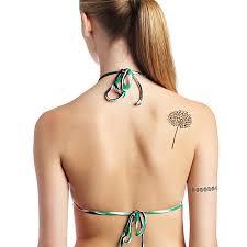 2ks Krásné Pampeliška Tetování Samolepky