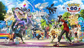 Pokémon GO 4th Anniversary special artwork : pokemongo