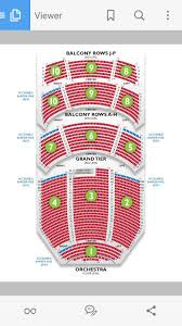 Ppac Interactive Seating Chart Dpac Seating Chart Gallery Of Chart 2019