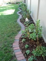 brick garden edging. brick garden edging
