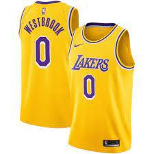 Los Angeles Lakers Nike Swingman Jersey ...