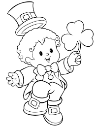 Small Picture St Patricks Day Coloring Page Coloring Book