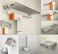 Best Bath Decor bathroom hardware accessories : Sandblast Modern Bathroom Hardware Sets Spray Aluminum Solid ...