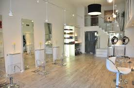 Salon Layouts Minimalist Hair Salon Design Layouts With Staircase And Black Drum