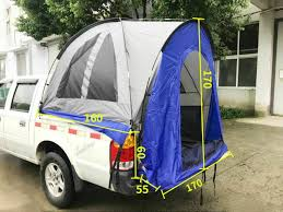 Pickup Truck Bed Tent SUV Camping Outdoor Canopy Pickup Cover Tents ...