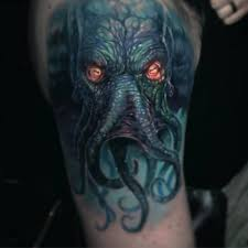 Tattoo Map Paul Acker Sure Does Love Doing Cthulhus Facebook