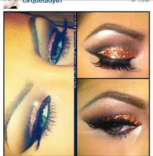 follow this amazing talented mua on insram name noted on image