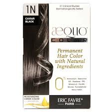 Aequo Color Chart Aequo Color Cream Natural Hair Color Black 1n Caviar One Application