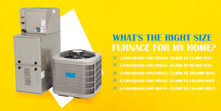 Btu Square Footage Chart How To Estimate The Right Size Furnace For Your Home