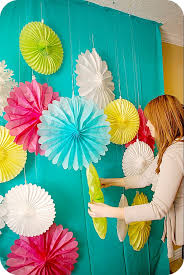 plus make a photo booth and a paper lantern chandelier photobooth backdrop diybackdrop