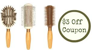 ecotools hair brush. go ahead and print the new high value ecotools hair brush coupon! you can get $3 off a of your choice. ecotools e
