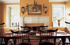 Colonial Style Dining Room Furniture