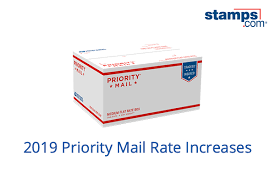 Usps Priority Mail Rates 2019 Stamps Com Blog