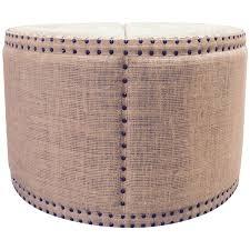 burlap furniture. Viyet - Designer Furniture Seating Noir Bulls Eye Burlap Ottoman