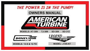 American Turbine Impeller Chart Owners Manual American Turbine Manualzz Com