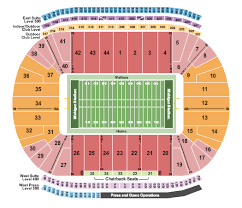 5 3 Field Toledo Ohio Seating Chart Michigan Stadium Seating Chart Rows Seat Numbers And Club