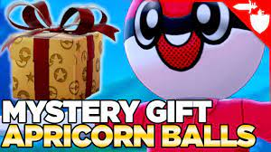 Extra Apricorn Balls in Pokemon Sword and Shield - Mystery Gift Codes  *OVER* - YouTube