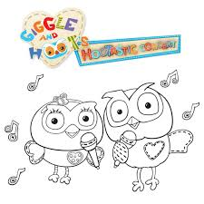 They'll be sure to keep the little ones busy while. Giggle Hoot S Colouring In Pictures Live Nation Tv