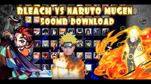 Bleach VS Naruto MUGEN 3.3 Modded 60 Characters ANDROID {500MB DOWNLOAD} -  YouTube