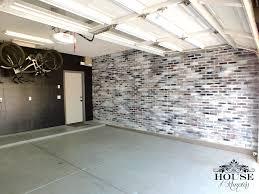 brick, contemporary, eclectic, faux brick panels, faux finish, garage, home