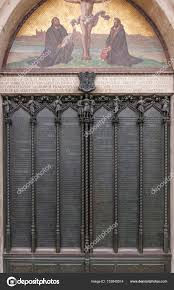 Decorating martin luther church door photos : Door of the All Saints church in Wittenberg Germany with the ...