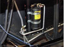 installing air conditioning in your muscle car hot rod network installing a binary safety switch on the drier assembly protects the a c system by shutting off the compressor during extremely high or low pressure