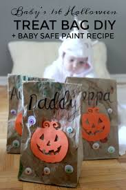 baby s first treat bag diy baby safe paint recipe