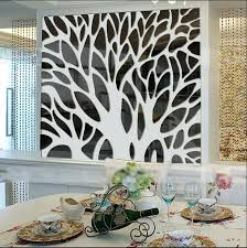 mirror stickers bedroom wall decor