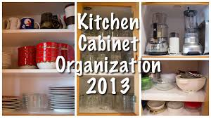 Kitchen Shelf Organization Kitchen Cabinet Organization Kitchen Series 2013 Youtube