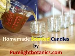Homemade Scented Candles by Purelightbotanics.com ...