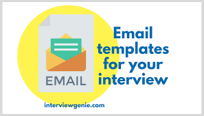 Thank You For Scheduling The Interview Templates For Responding To Emails From Recruiters Interview Genie