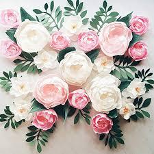 Paper Flower Decor Flower Paper Wall Zlatan Fontanacountryinn Com