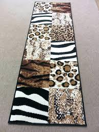 tiger print rug animal print rug runners fresh animal print rug runners tasty zebra leopard tiger
