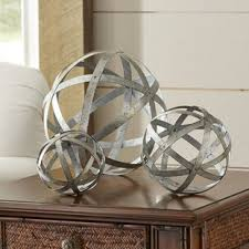 Decorative Metal Balls Decorative Balls You'll Love Wayfair 85