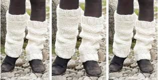 Leg Warmer Knitting Pattern Mesmerizing Lovely Lamb Knitted Leg Warmers [FREE Knitting Pattern]