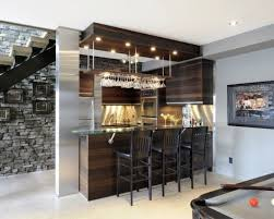 simple home bar design placed in space under staircase 40 inspirational home bar design ideas check 35 home bar