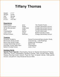 Acting Resume Templates Actor Resume Template Lovely 100 Actor Resume Template Resume 47