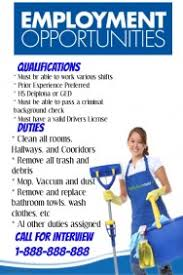 Housekeeping Flyers Templates Hiring Flyers In Spanish For Housekeeping Ohye Mcpgroup Co