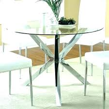 round dining table glass top cover incredible ikea