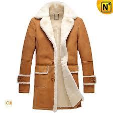 leather shearling coat cw878604 cwmalls com