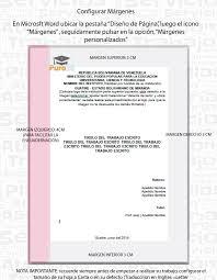 Formato De Portada Normas Apa Normas Upel Plantilla Descargable Word Puro20