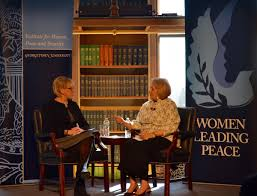 events georgetown institute for women peace and security the georgetown institute for women peace and security and the embassy of sweden hosted a conversation h e margot wallstroumlm swedish minister of