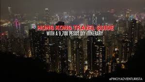 How To Budget For A Trip Hong Kong Travel Guide 2019 With A 9 700 Pesos Diy Itinerary And
