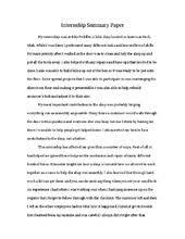 internship paper final
