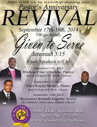 Church Revival Images Church Revival Flyers Revival Flyer Pastor Anniversary